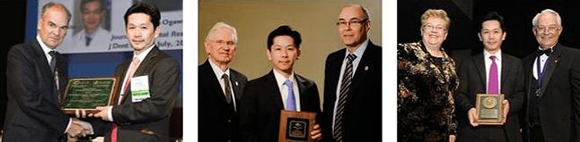 日本人としてはじめて、米国3学会にて最高研究賞を受賞した小川教授